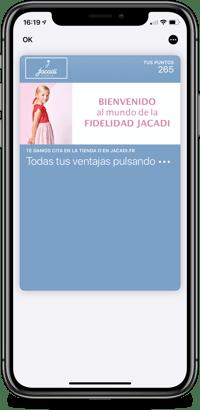 Tarjeta de fidelidad Jacadi
