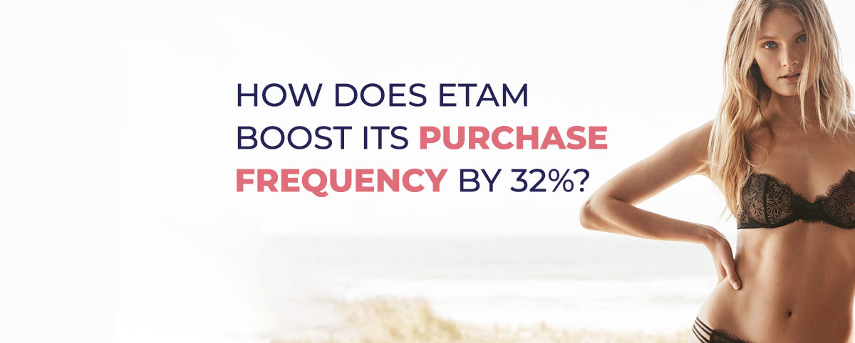 mobile wallet marketing solution for Etam