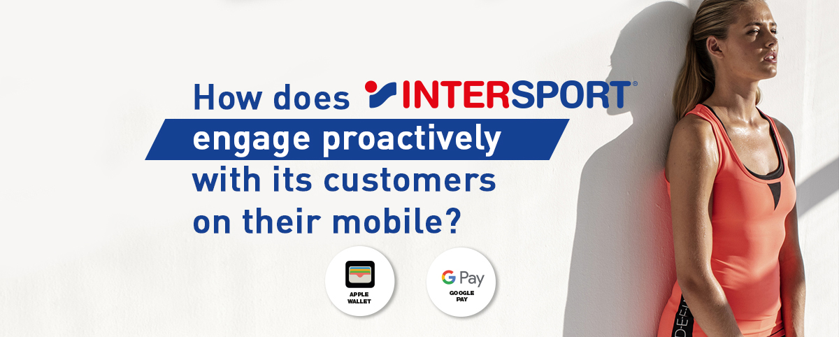 mobile wallet marketing solution for Intersport
