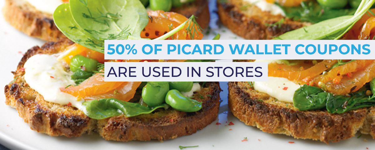 mobile wallet marketing solution for Picard